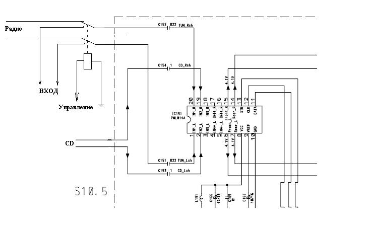 Pioneer deh-3700mp схема