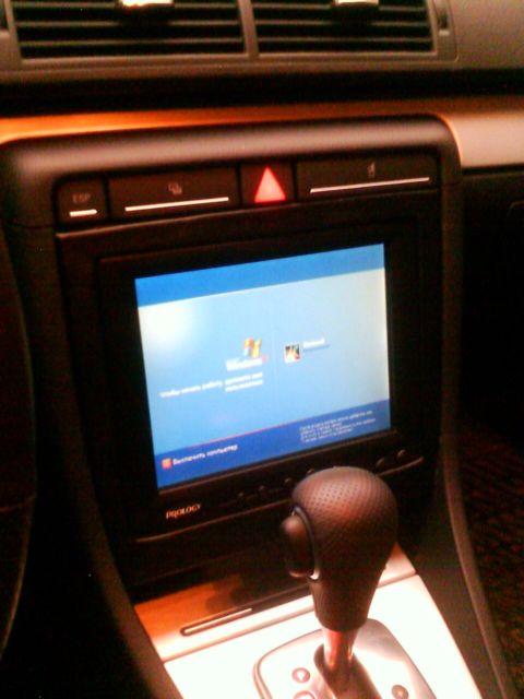 Монитор для машины своими руками 92