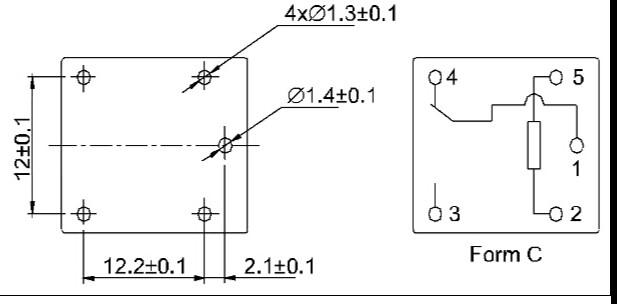 Вот схема HJR-21FF-S-Z (7А) и