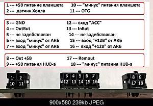Нажмите на изображение для увеличения Название: Распиновка разъёмов.jpg Просмотров: 642 Размер:239.0 Кб ID:50107