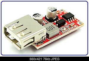 Нажмите на изображение для увеличения Название: Buck-Converter-DC-DC-6-36V-USB-800x800.jpg Просмотров: 11 Размер:76.5 Кб ID:51989